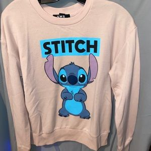 Disney Lilo & Stitch crop crew Size Medium